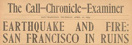 Call/Chronicle/Examiner, 1906