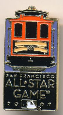 2007 All Star Game pin