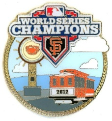 2012 World Series pin