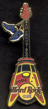Hard Rock Cable Car Guitar/Bay to Breakers Pin
