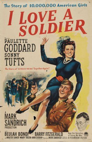 I Love a Soldier poster