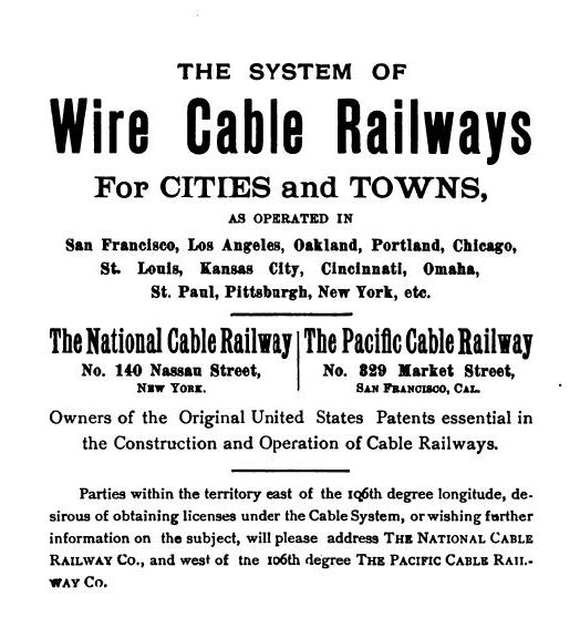 ad for national/pacific cable railway