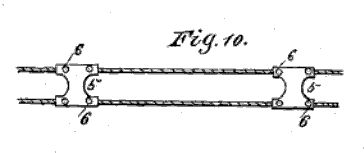 Wheaton patent/ladder cable