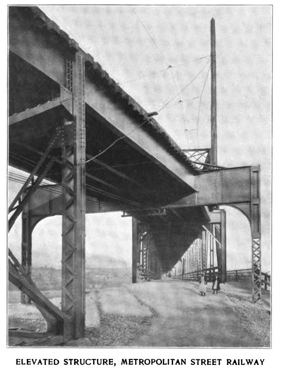 elevated structure, metropolitan street railway