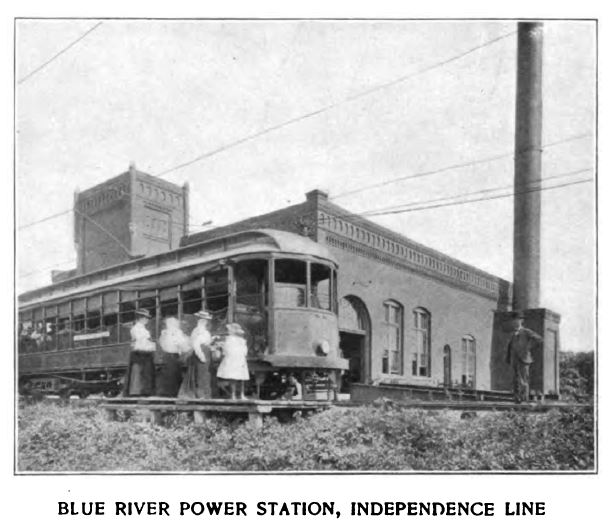 blue river power station, independence line