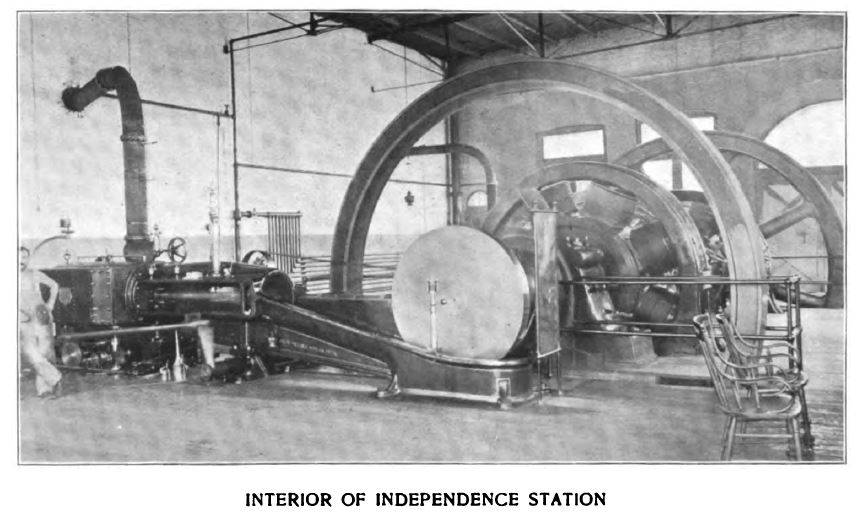 interior of independence station