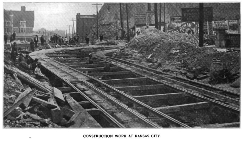 construction work at kansas city