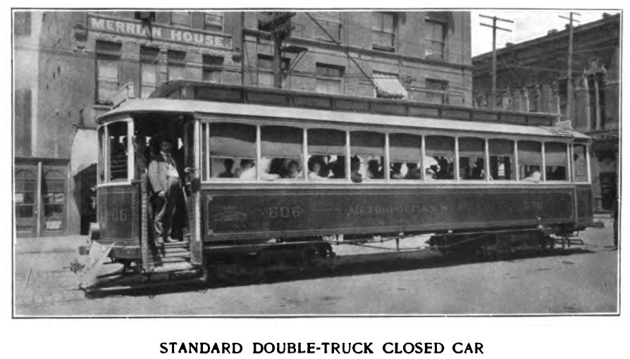 standard double-truck closed car