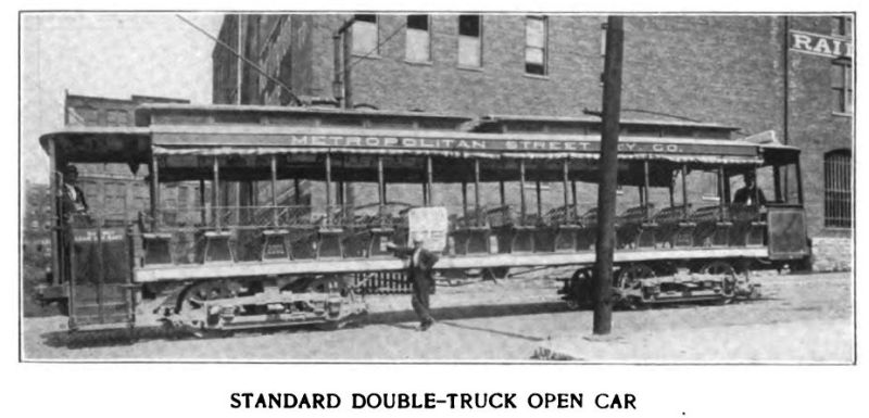 standard double-truck open car