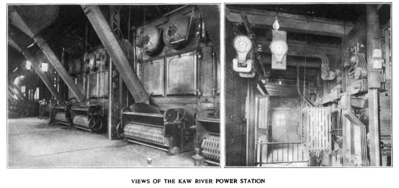 views of the kaw river power station/2