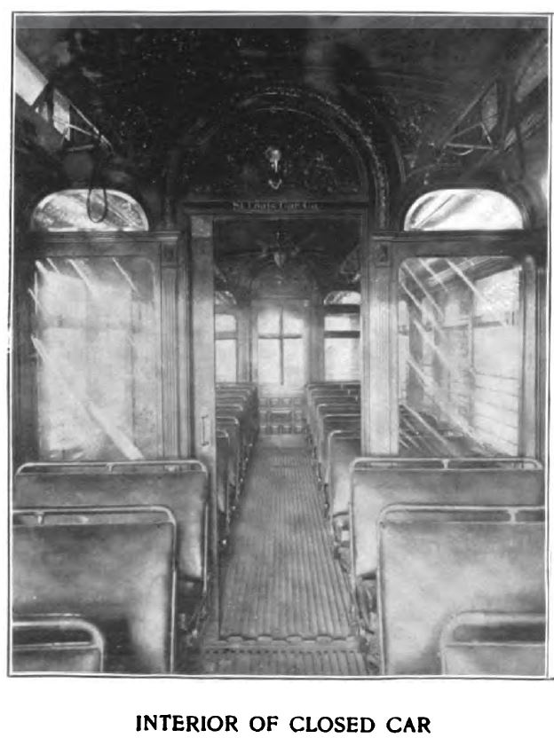 interior of closed car