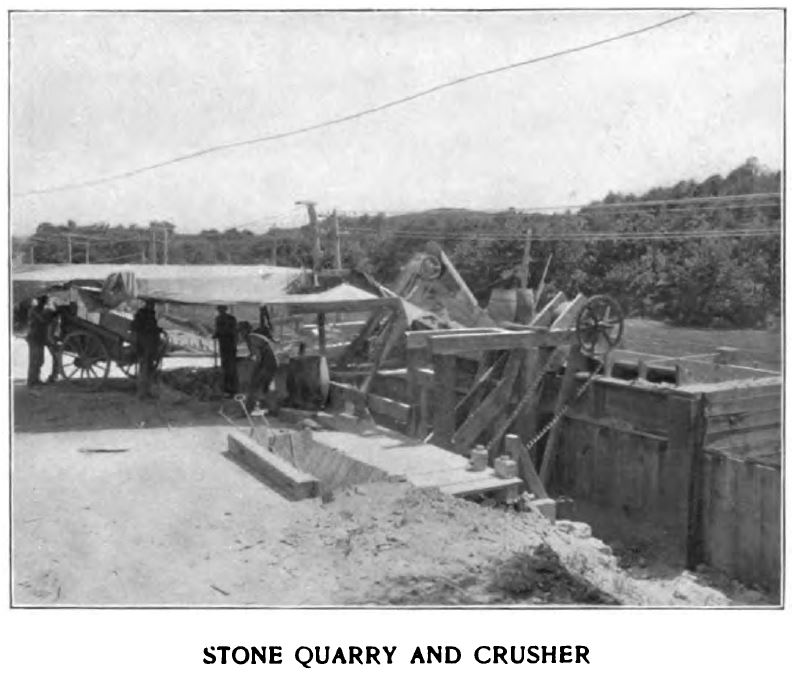stone quarry and crusher