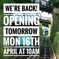 Lynton and Lynmouth Cliff Railway announcement