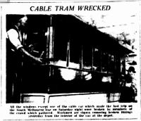 cable tram wrecked