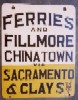 Sacramento/Clay Sign